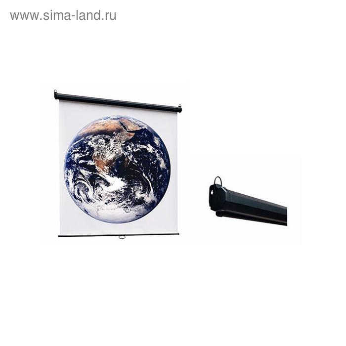 Экран ScreenMedia 150х150 Economy-P (SPM-1101) MW 1:1, настенный
