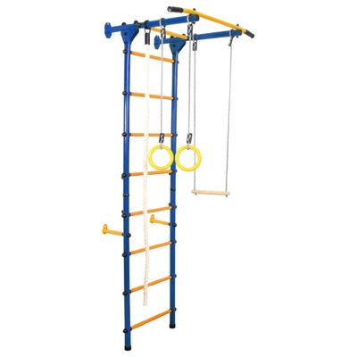 Детский спортивный комплекс Юный Атлет «Пристенный-Лайт», 750 × 900 × 2200 мм, цвет синий - Фото 1
