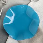 Тарелка «Медуза», d=21 см, цвет бирюзовый - Фото 1