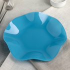 Тарелка «Медуза», d=21 см, цвет бирюзовый - Фото 2