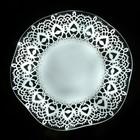 Блюдо «Медуза. Кружево», d=30 см, цвет белый - Фото 2