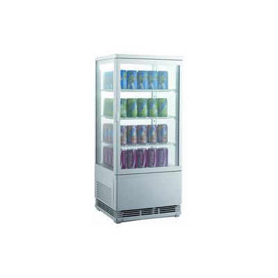 Шкаф холодильный Gastrorag RT-78W, витринный, 3 полки, 78 л, от 0 до +12°С, белый