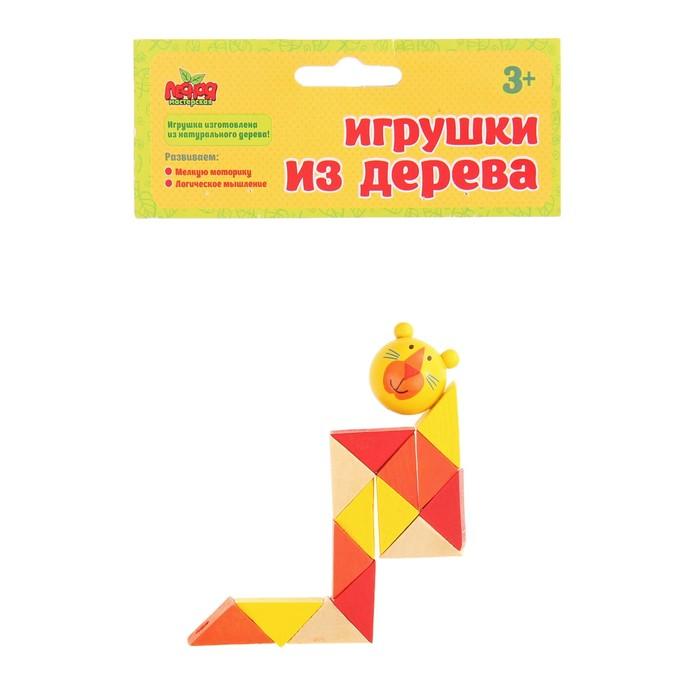 """Головоломка логическая """"Змейка - тигр"""""""