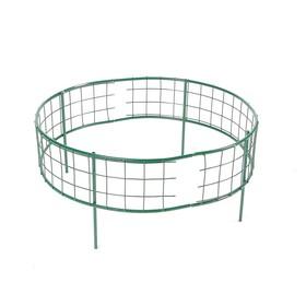Клумба оцинкованная, 37 × 70 × 70 см, зелёная, «Решётка» Ош