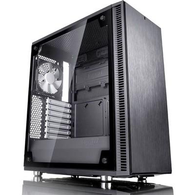Корпус Fractal Design Define C TG, без БП, ATX, черный - Фото 1