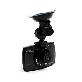 Видеорегистратор, 1080P, TFT 2.4, обзор 120°, черный Ош