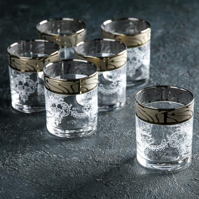 """Набор стаканов для виски 270 мл """"Мускат"""", 6 шт"""