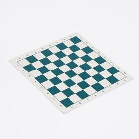 Шахматное поле, пвх,  34.3х34.3 см,  микс Ош