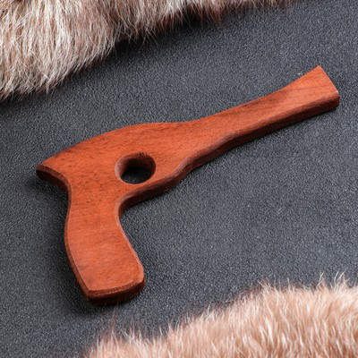 """Сувенирное деревянное оружие """"Револьвер"""", 25 см, массив бука"""