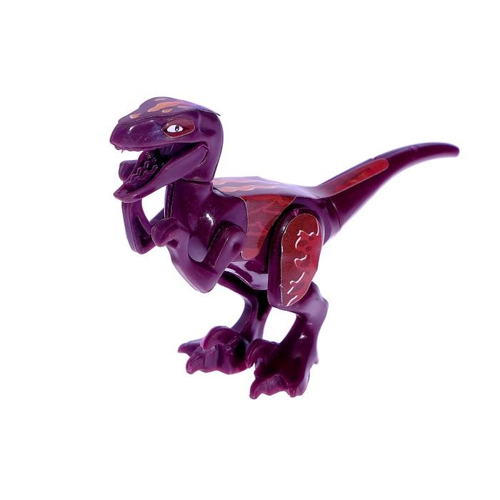 Конструктор Динозавр, 10 деталей, МИКС