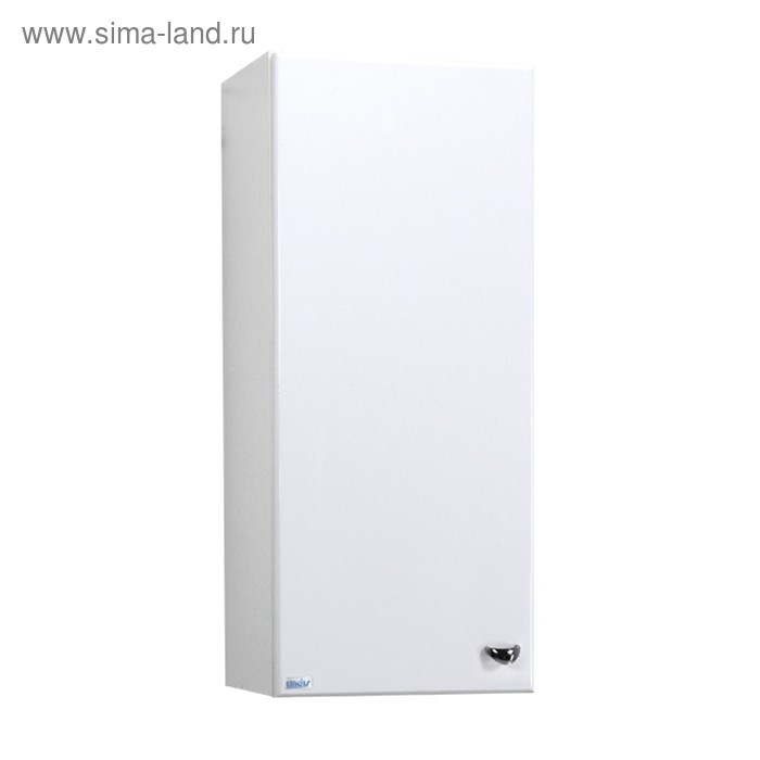 Шкаф навесной Крит 30 1 дверь Цвет: белый глянец