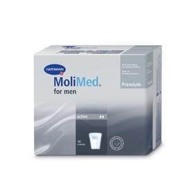 Урологические вкладыши для мужчин MoliMed Premium for men active, 14 шт