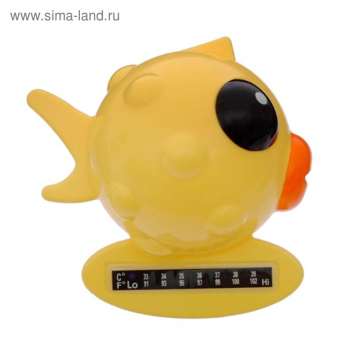 Термометр для ванной «Рыбка», цвета МИКС
