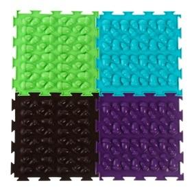 Массажный коврик 1 модуль «Орто. Жёлуди», жёсткий, цвета МИКС Ош