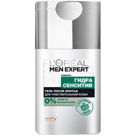 Гель после бритья L'Oreal Men Expert Hydra Sensitive, для чувствительной кожи, 125 мл