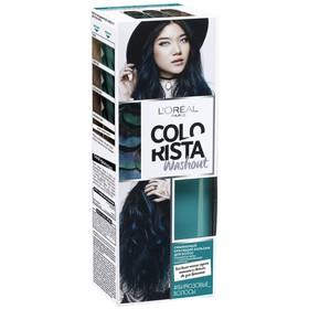 Красящий бальзам для волос L'Oreal Colorista Washout, смываемый, цвет бирюзовый, 80 мл