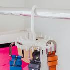 Вешалка для ремней 11×11×10 см, 20 крючков, цвет МИКС - Фото 2
