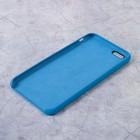Чехол LuazON силиконовый IPhone 6 Plus, синий - Фото 2