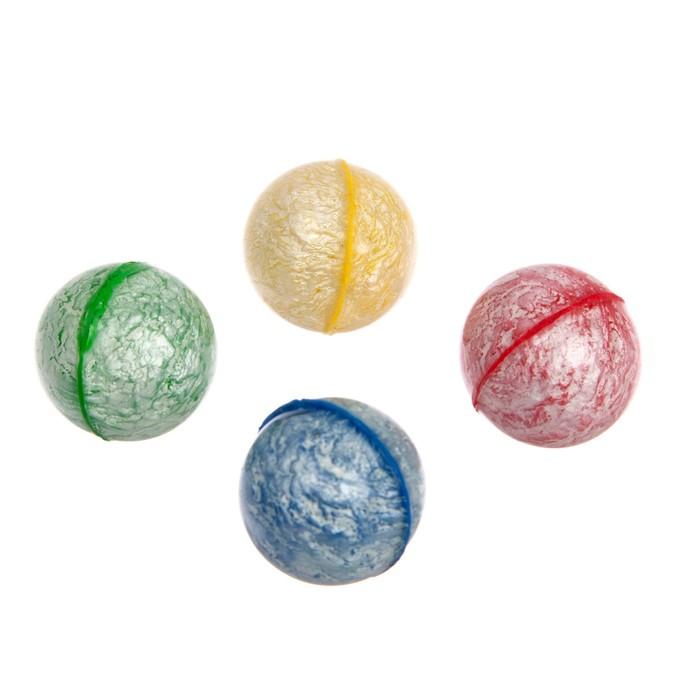 Мяч Цветной, 2,5 см, цвета МИКС