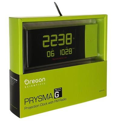 Метеостанция Oregon Scientific RRM222PN, проекция, FM-радио, радио-датчик, зеленый