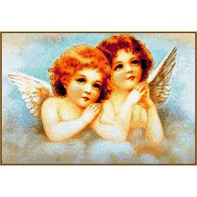 Алмазная мозаика «Ангелочки», 21 цвет
