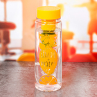 "Бутылка для воды ""Лимон+Вода"", 500 мл"