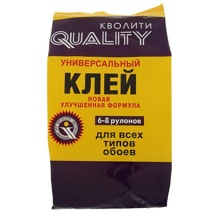 купить Клей обойный Quality, универсальный, мягкая упаковка, 200 г