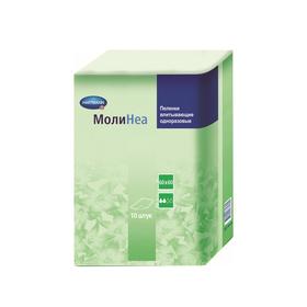 Впитывающие пеленки MoliNea, размер 60х60 см, 130 г/м2, 10 шт