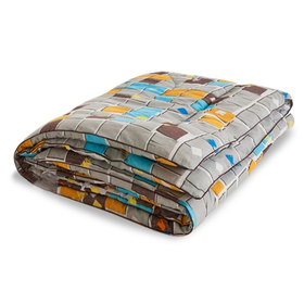 "Одеяло тёплое ""Полли"", размер 200х220 см, поплин, микс"