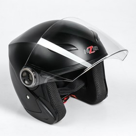 Шлем HIZER 219-2, размер L, черный матовый Ош