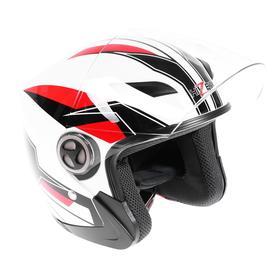 Шлем HIZER 219-1, размер M, белый Ош
