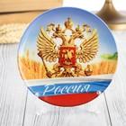 Тарелка сувенирная «Просторы России»
