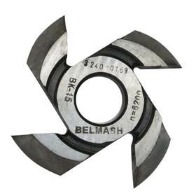 Фреза радиусная BELMASH, для фрезерования полуштапов, 125х32х17 мм (правая), R12 Ош