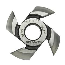 Фреза радиусная BELMASH, для фрезерования полуштапов, 125х32х19 мм (правая), R14 Ош