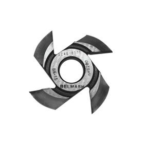 Фреза радиусная BELMASH, для фрезерования полуштапов, 125х32х21 мм (правая), R16 Ош
