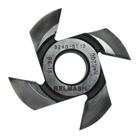 Фреза радиусная BELMASH, для фрезерования полуштапов, 125х32х23 мм (правая), R18 Ош