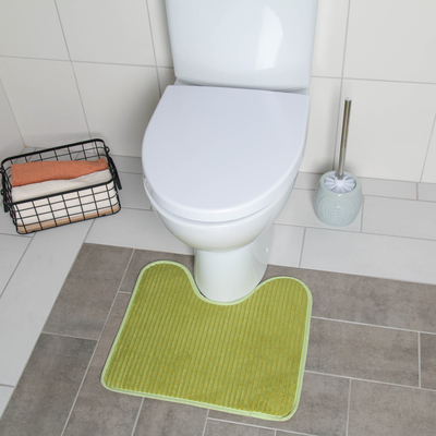 Коврик для туалета 43,5×39 см цвет МИКС - Фото 1