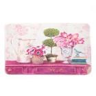 Коврик для дома «Натюрморт», 45×80 см, цвет розовый - Фото 2