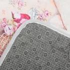 Коврик для дома «Натюрморт», 45×80 см, цвет розовый - Фото 4
