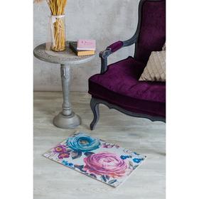 Коврик для дома «Цветочный», 50×80 см Ош