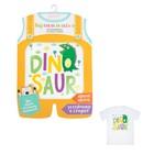 Термонаклейка для декорирования текстильных изделий детская Dino, 14 х 14 см