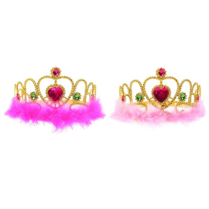 Корона Принцесса, цвета МИКС