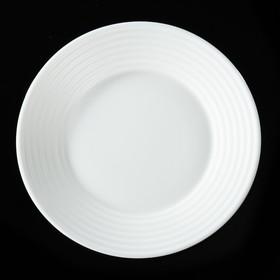Тарелка обеденная Stairo, d=23,5 см