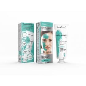 Крио-маска для лица Compliment «Анти-акне и Матирование», расслабляющая, зелёная, 80 мл