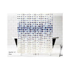 Штора для ванной Drop, размер 180х200 см V10