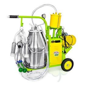 Доильный агрегат 2 в 1, 25 л, для как коров и коз, силикон Ош