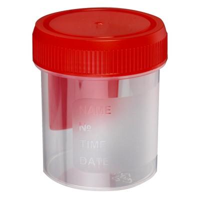 Контейнер со шпателем, стерильный, в индивидуальной упаковке, 60 мл