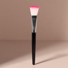 Кисть для масок, 15 см, цвет чёрный Ош