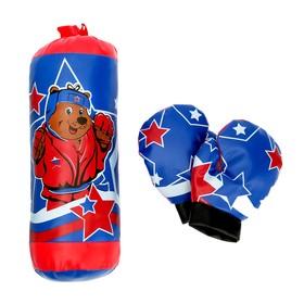 Игровой набор для бокса «Мишка» Ош