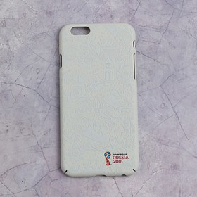 Чехол 2018 FIFA WORLD CUP RUSSIA, iPhone 6/6S, soft-touch